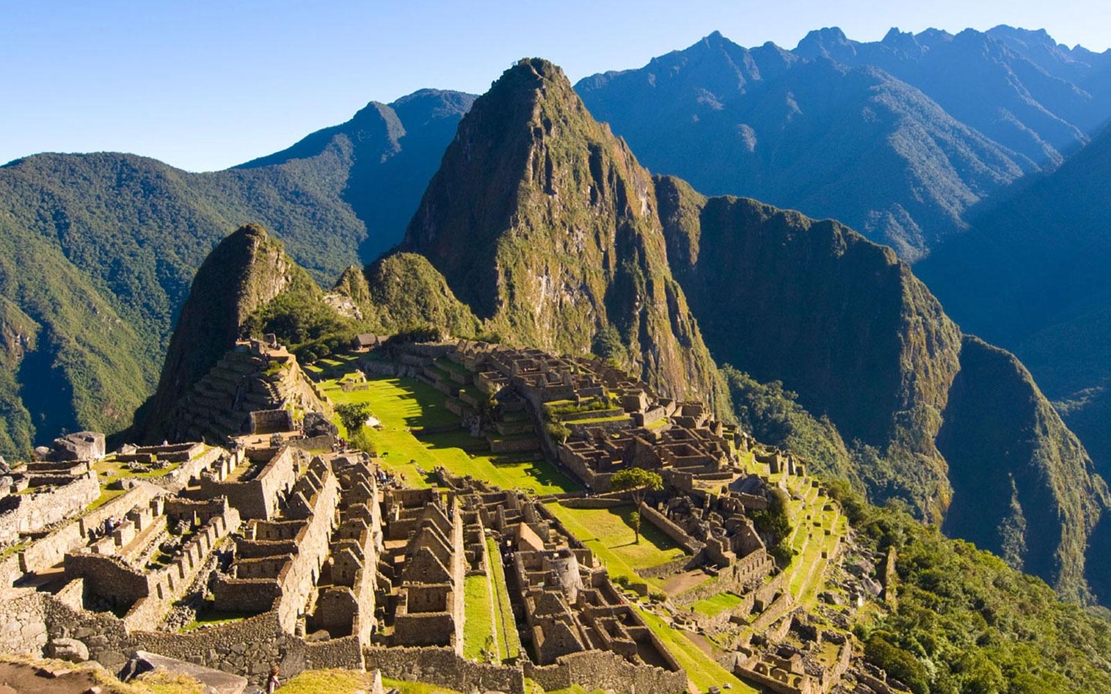 Ruinas Machu Picchu - Perú